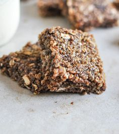 No-Bake Brown Butter Quinoa Bars