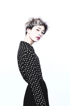 Short hair styles I like Shot Hair Styles, Hair Styles 2014, Love Hair, Great Hair, Pixie Cut With Bangs, Hair Arrange, Looks Street Style, Permed Hairstyles, Creative Hairstyles