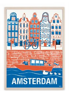Amsterdam Poster #2 (50x70cm)