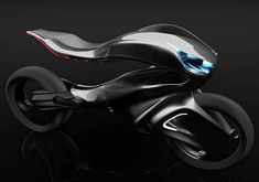 """The Mercedes One Class Revenge motorcycle concept by Alfonso Nuñez Perea, it is """"powerful, dynamic and sculptural.""""Specializing in Advanced Industrial Design in Córdoba, Argentina, Alfonso Nuñez Perea, designed the Mercedes One Class Revenge motorcycle concept, featuring the ability to handle it with integrated"""