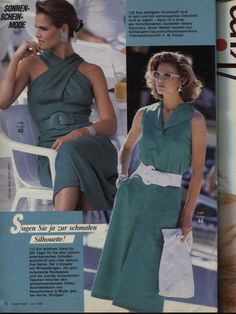 80s Fashion, Fashion History, Nice Dresses, Casual Dresses, 90s Outfit, Looking For Women, 1980s, Princess Caroline, Style Inspiration
