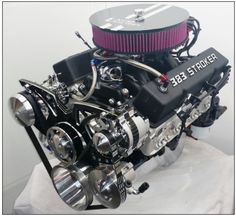 CHEVY 383 STREET STROKER  475 HORSEPOWER ENGINE