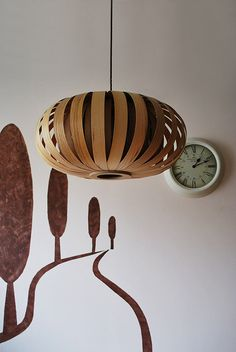 Beautiful handmade hanging and floor lamp, Eco-friendly wood, design lamp, pendant lamp, veneer lamp, wood lamp