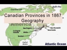 Classical Conversations Geography: Canadian Provinces (1867) - YouTube