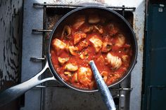 What better way to take away the chills from a day on the ice than a steaming bowl of stew
