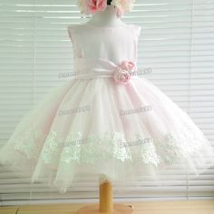 731903f8339c one year old girl first birthday party dress