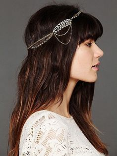 Leaf Motif Headband-Free People! So cute! Wanna buy one of these!!!!