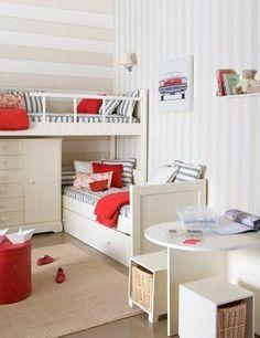 Small room idea.
