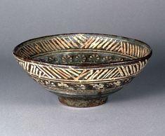 """Mishima teabowl, """"Kimura"""", 16-17th century, Japan"""