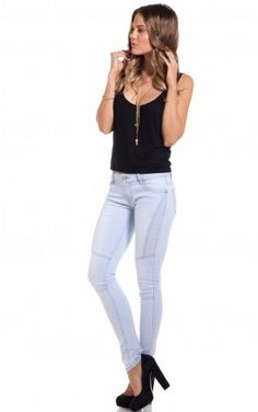 Skydive jeans in light blue