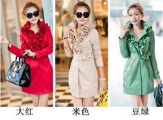 Free Shipping Fancy Coats For Women Korean Trench Coat 2013 Super Sexy Hot Sale Fashion Slim Style $44.83