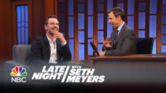 Michael Fassbender Mastered a Motorcycle Race Track, 8.7.14 - Late Night with Seth Meyers