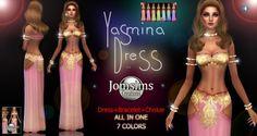 Jom Sims Creations: Yasmina • Sims 4 Downloads