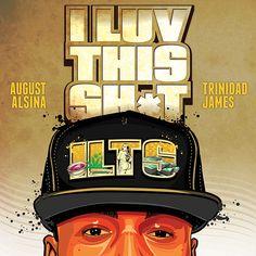 G217 Young Thug Beautiful Thugger Girls Album Cover Hip Hop Rap Art Poster
