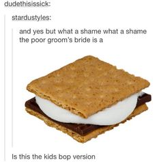 What a shame the poor groomsbride is a smore Panic!, Panic at the Disco, P! Emo Bands, Music Bands, Louisiana, Tenacious D, Bible Object Lessons, Three Days Grace, Rockn Roll, Sunday School Lessons, Thing 1