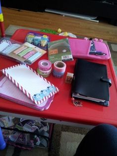 Filofax article about different resources, love the tabs ideas