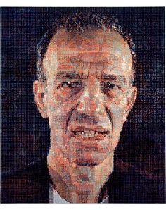 Chuck Close Alex I, 1987 oil on canvas x 84 in. x cm) Toledo Museum Of Art, Art Museum, Chuck Close Portraits, Alex Katz, Art Thou, A Level Art, Hyperrealism, Pointillism, Classical Art