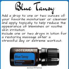 Try diffusing Blue Tansy in the morning to uplift moods and to create a positive atmosphere. Try Blue Tansy Lavender Copaiba Frankincense to start your day on a positive note. I have a feeling this would go over well in an office too. #essentialoils #doterra #oilswithfrance #nonasties #cptg #huilesessentielles to contact me see contact link or email link in bio