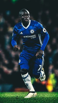 Nagolo Kante Chelsea London Chelsea Fc Football Wallpaper within Amazing N'Golo Kante Wallpapers Iphone - Find your Favorite Wallpapers! Chelsea London, Fc Chelsea, Chelsea Football, Football Players Images, Best Football Players, Soccer Players, Chelsea Wallpapers, Chelsea Fc Wallpaper, Soccer Fans