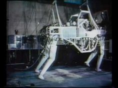 Video of GE Walking Truck- Cybernetic Anthropomorphous Machine (CAM) from 1969.