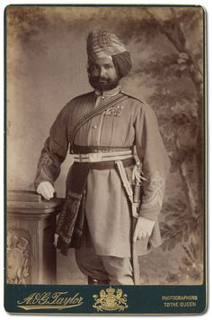 Soldiers of the Queen - Indian Cavalry Officers Queens Jubilee 1887 - Lena Singh
