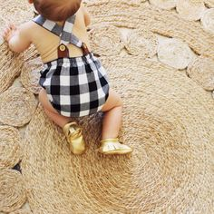 Our beautiful Summer Rompers are meticulously handmade locally in Western Australia. We have sourced the best quality 100% Linen and 100% Cotton fabrics and designed these to sit perfectly on little legs and backs! The cutest must-have outfit for Your Summer Babe! Each romper features Tan tabs at the back with gold buttons.Available in Dusty Pink Linen, Charcoal Linen, Black