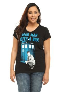 Doctor Who Mad Man With A Box Tee. WAAAAANNNTTTTTTT
