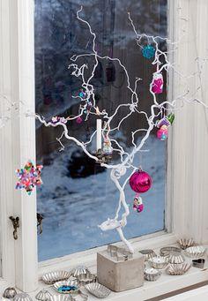 7 december 2011 - Kerst decoraties voor de vensterbank