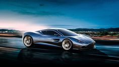 The Aston Martin DBC concept designed by Samir Sadikhov from Azerbaijan, who has a great portfolio you're probably already familiar. The Aston Martin mid-engine DBC concept is sleeker and more powerful-looking than: Aston Martin Cars, Aston Martin Vanquish, New Sports Cars, Super Sport Cars, Super Car, Mclaren P1, Koenigsegg, Bugatti Veyron, Wallpaper Magic
