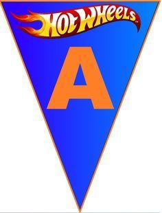 Has A - Z---BulutsMom: Hot Wheels Doğum Günü Banner