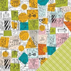 Chattanooga 12X12 Here & There Paper  by Studio Calico