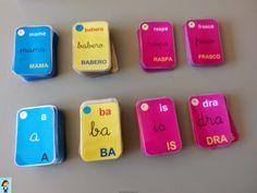 Barajas para descargar de lectoescritura. También se pueden pedir on line.          Barajas de sílabas directas, inversas y trabadas.   ...