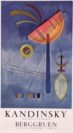 Wassily Kandinsky, Berggruen, 1972. Print.