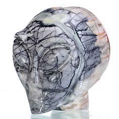 Alien Skull, Stone, Artwork, Rock, Work Of Art, Auguste Rodin Artwork, Stones, Artworks, Batu