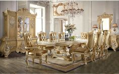 Oe-fashion Custom Oem Dining Table Chairs Dining Tables And 8 Chairs High Quality Luxury Style Dining Room Furniture Design - Buy Dining Tables And Chairs Set Home,Dining Table Chair,Party Tables And Chairs Product on Alibaba.com Table And Chair Sets, Dining Table Chairs, Dining Set, Dining Room Furniture Design, Furniture Styles, Living Spaces, Table Settings, Luxury, Party Tables