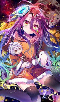 No game no life zero wallpaper Otaku Anime, Manga Anime, Manga Art, Anime Style, Zero Wallpaper, Wallpaper Engine, Wallpaper Quotes, Wallpaper Backgrounds, Game No Life