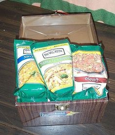 Affordable food storage plan. Also other great prepping info on website.