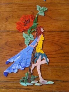 Mozaik onun için bir tutku idi. Çok güzel çalışmaları oldu Sevgili Hacer'in.