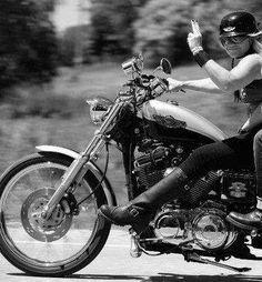 Most def not me 😉 Biker Love, Biker Style, Lady Biker, Biker Girl, Chopper, Def Not, Easy Rider, Cafe Racer, Biker Chick