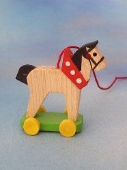 Vintage Hobby Horse Pony on Wheels Toy RETIRED STEINBACH Wood German Ornament Hobbies And Interests, Hobby Horse, Pony, Christmas Ornaments, German, Wheels, Vintage, Collection, Ideas