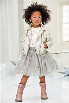 Buy Silver PU Biker Jacket (3mths-6yrs) from the Next UK online shop