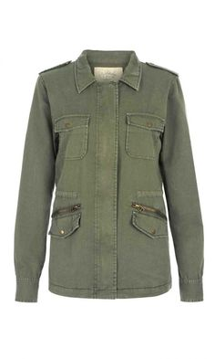 Best-Selling Army Jacket :: Lily Aldridge for Velvet