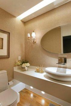 Pin by connie yam on home decor bathroom, bathroom interior design, bathroo Bathroom Design Luxury, Bath Design, Bathroom Layout, Small Bathroom, Half Bathrooms, Home Interior, Interior Decorating, Interior Garden, Beautiful Bathrooms