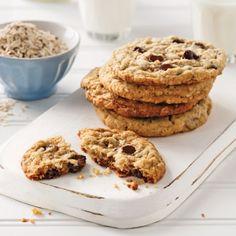 Biscuits aux pépites de chocolat - Recettes - Cuisine et nutrition - Pratico Pratique Baked Goods, Snacks, Cookies, Baking, Nutrition, Sauce Bolognaise, Lactose, Magazines, Photos