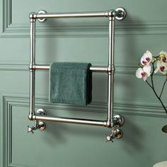 heated towel rack + wall color | Victorian Radiators | Traditional Towel Radiators – BathEmpire.com