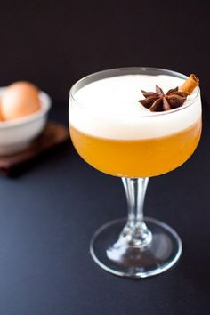 Branch out from your typical whiskey sour routine by adding a bit of chai syrup to the mix.