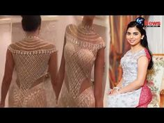 India's Richest Man Mukesh Ambani's Daughter Isha Ambani's 1 Billion Rupees ($14700000) Designer Dress