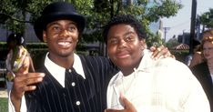 Kenan Thompson and Kel Mitchell reuniting to compete on special episode of 'Double Dare' Kenan E Kel, 2000s Kids Shows, Kenan Thompson, Uplifting News, Ecuador, Double Dare, Saturday Night Live, Best Actor, Funny People