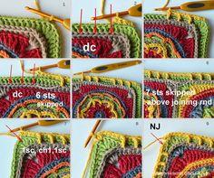 Final Part: Circles of the Sun CAL | LillaBjörn's Crochet World