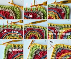 Final Part: Circles of the Sun CAL | LillaBjörn's Crochet World